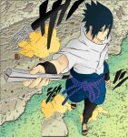 Sasuke color try by KibaPandaRo