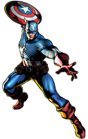 Ultimate MVC3 Captain American by heatheryingNL