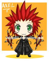 chibi axel by jurieduty