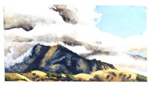 Mt Diablo by TheMightySmoosh
