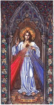 The Divine Mercy by Theophilia