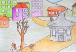 The Gray House IV - children book ilustration by sanntta82