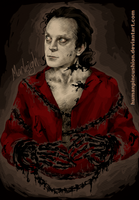 Brad Dourif as Luther Lee Boggs by HumanPinCushion