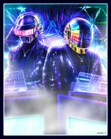 GET LUCKY - DAFT PUNK by EddieHolly
