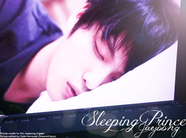 Sleeping Prince - Jaejoong by NeverRegretMe