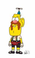 Simpsons Styled Uncle Grandpa by TheIransonic