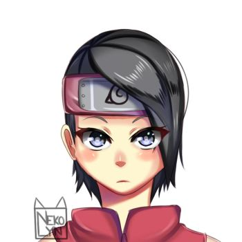 Sarada by Nekolyn