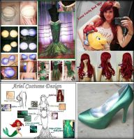 Ariel cosplay planing by mayumi-loves-sora