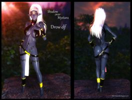 Dungeons and Dragons: Shadow over Mystara Drow Elf by BayouBilly