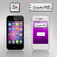 Skeduled - Icon and Banner by SimonDiff