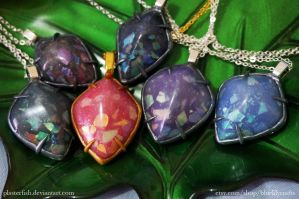 Dragon Scale Collection by plasterfish
