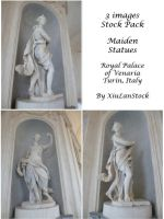 Maiden Statues Pack by XiuLanStock