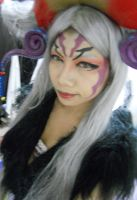 Make Up trial for Ultimecia by fumikomachiNie