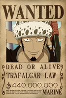 Trafalgar Law Wanted by Vero-Light