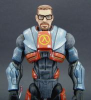 Gordon Freeman Half Life 2 by Jin-Saotome