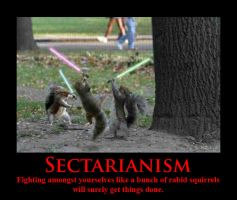 Sectarianism Demotivator Macro by SarcasticAvenger