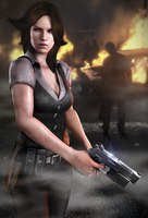 #D.S.O. Agent - Harper by DemonLeon3D
