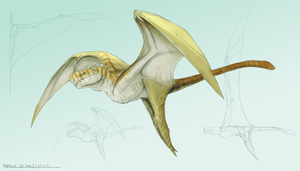 above the temperate zones - quick dragon concept by FabrizioDeRossi