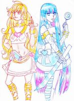 Panty and Stocking by mchemfan