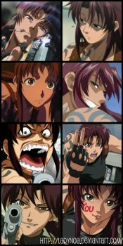 Revy Collage by LadyNoa