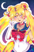 Sailor Moon by AlisonOT