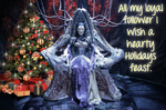 Holiday Wraith Queen by utan77