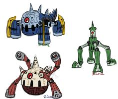 Reverbot designs by rongs1234
