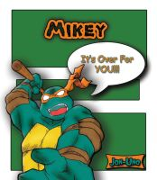 My Turtle Mikey by UNO926