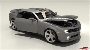 Camaro Breakdown by REDWOOD3D