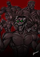Titan Shifters by ADL-art