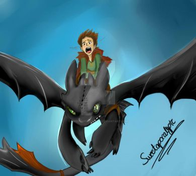 How to train your dragon by Sweetapocalyptc