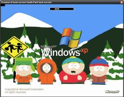 South Park Boot Screen by rpglord