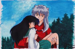 Please Hold On, Kagome! by xMomooh