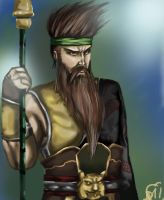 Guan Yu--Finished-- by sinisterkat