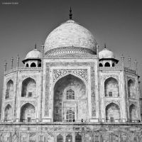 Taj Mahal V by AndrewToPhotography