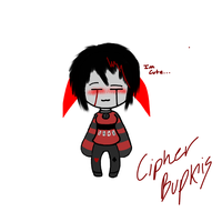 Cipher Bupkis in a Sweater c: by ZombieHighSchoolKid