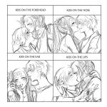 OL: cute kiss meme by Fortranica