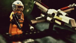 X-wing Starfighter by OMGImFabulous