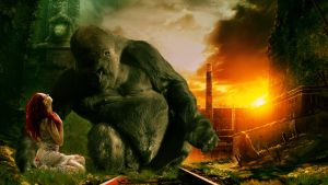 Planet of the Apes by MelGama