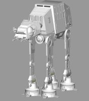 AT-AT MODEL by madmick2299