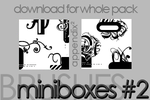 Brushes - Miniboxes 2 by Pinkly-Icons