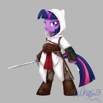 MLP+AC Twilight Sparkle as Altair by KvOrias23