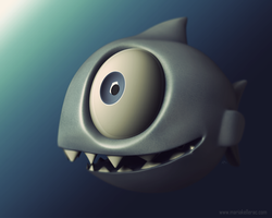 A cute piranha by KellerAC