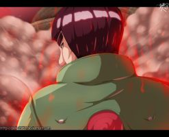 Naruto 667 - red beast by pollo1567