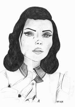 Elizabeth in Burial at Sea by laurahutton