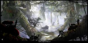 Mystic jungle by matty17art