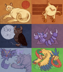 Pokeddex Days 1-6 by Weissidian