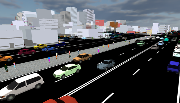 Traffic in the City by aDFP