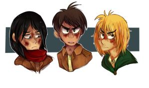 Attack on Titan by Golden-Brush