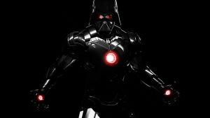Crossover Iron Man x Darth Vader by too-many-usernames